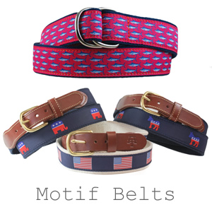 Leatherman Motif Belts